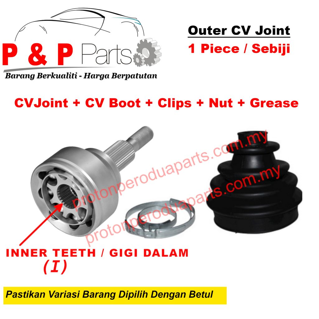 Outer Drive Shaft CV Joint For Perodua Kenari Kelisa Viva