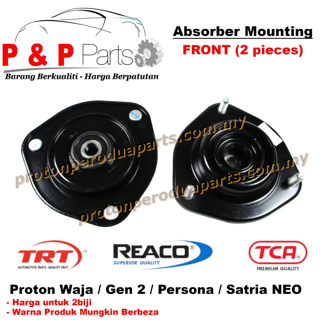 Front Absorber Mounting Depan for Proton Waja Gen 2 Persona Satria Neo - 2biji