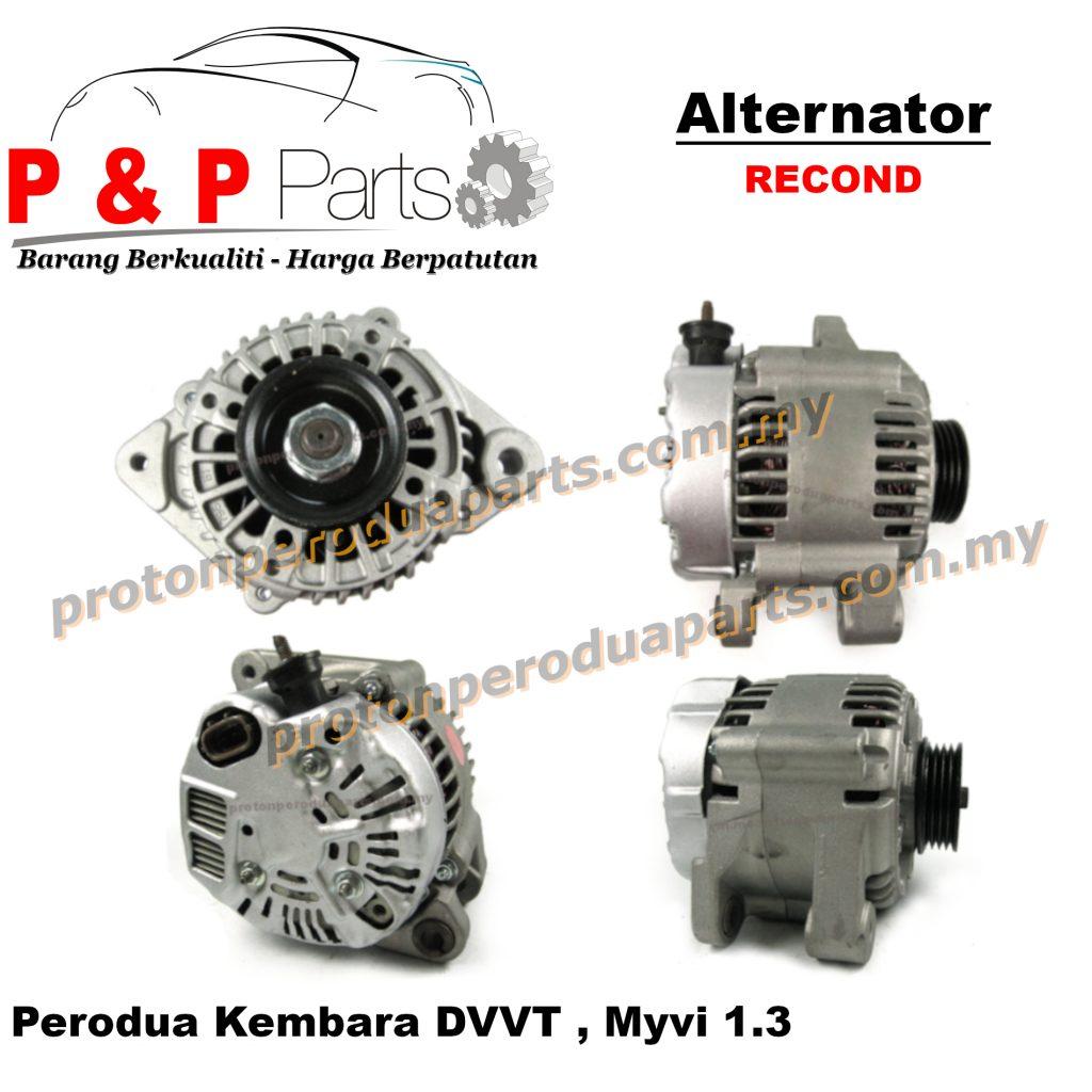 Alternator for Perodua Kembara DVVT, Myvi 1.3 (RECOND)