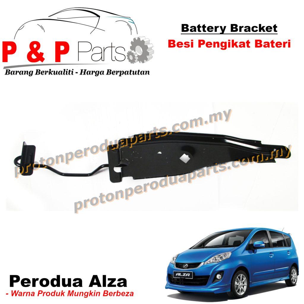 Battery Bracket - Besi Pengikat Bateri For Perodua Alza - NEW