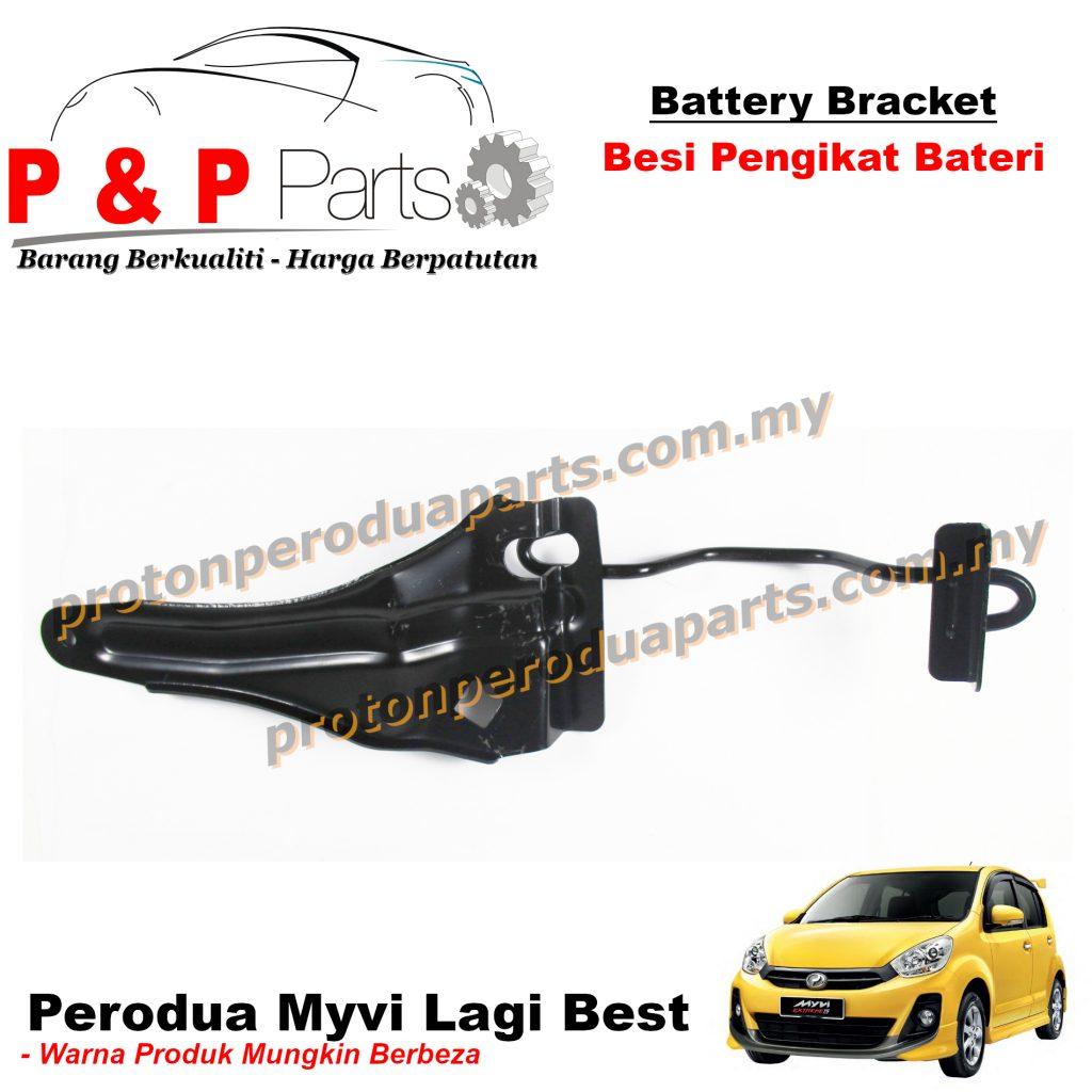 Battery Bracket - Besi Pengikat Bateri For Perodua Myvi Lagi Best - NEW