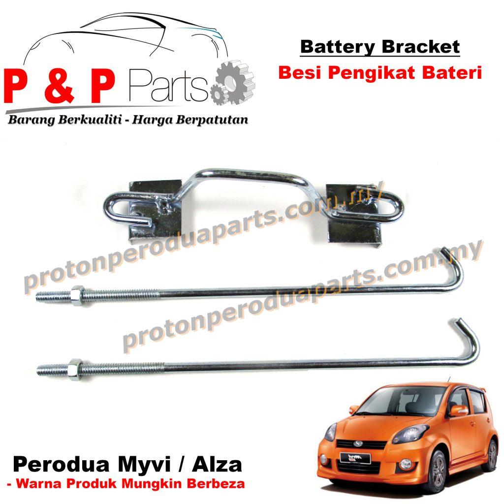 Battery Bracket - Besi Pengikat Bateri NS40ZL For Perodua Myvi Alza