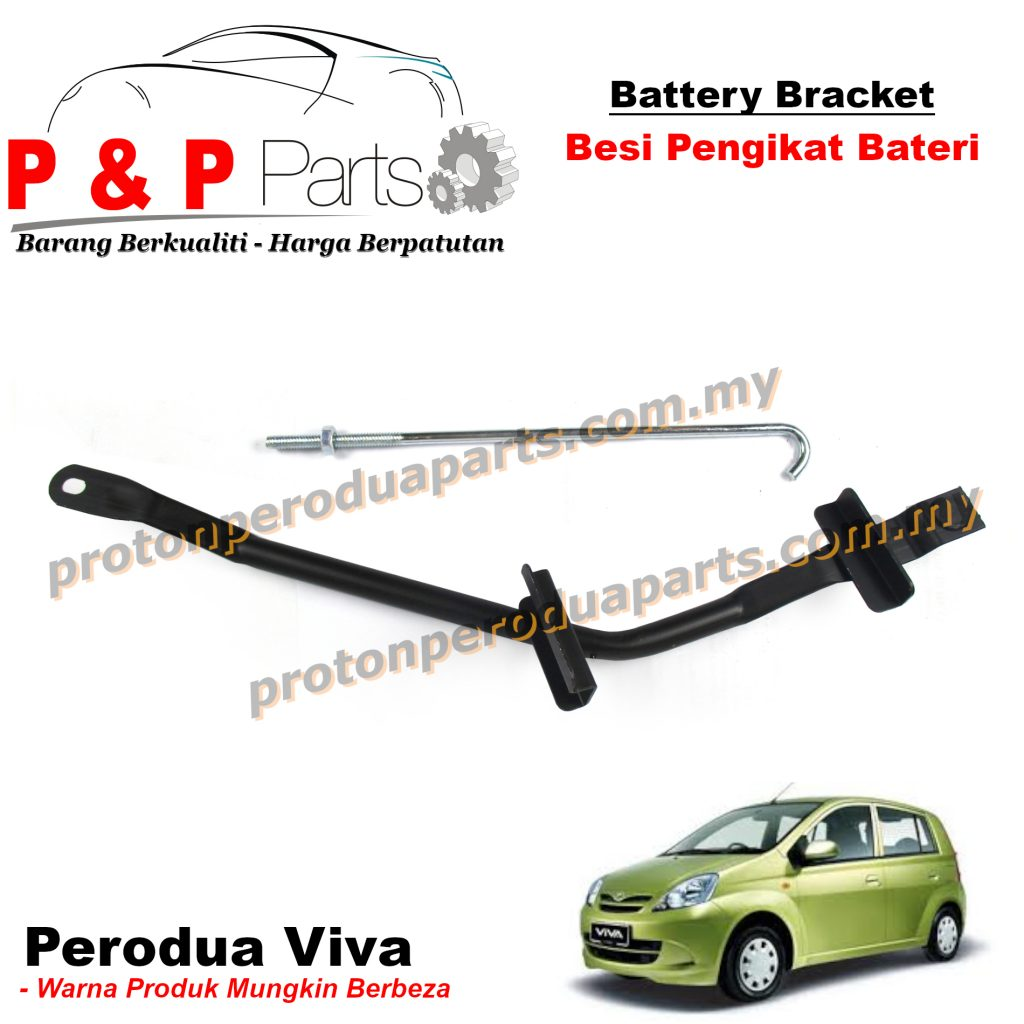 Battery Bracket - Besi Pengikat Bateri For Perodua Viva - NEW