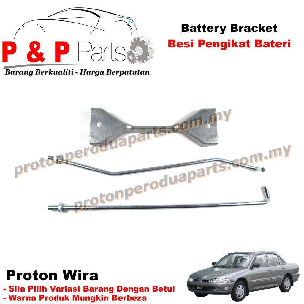 Battery Bracket - Besi Pengikat Bateri For Proton Wira Satria Old NS60 NS60L NS70 NS70L