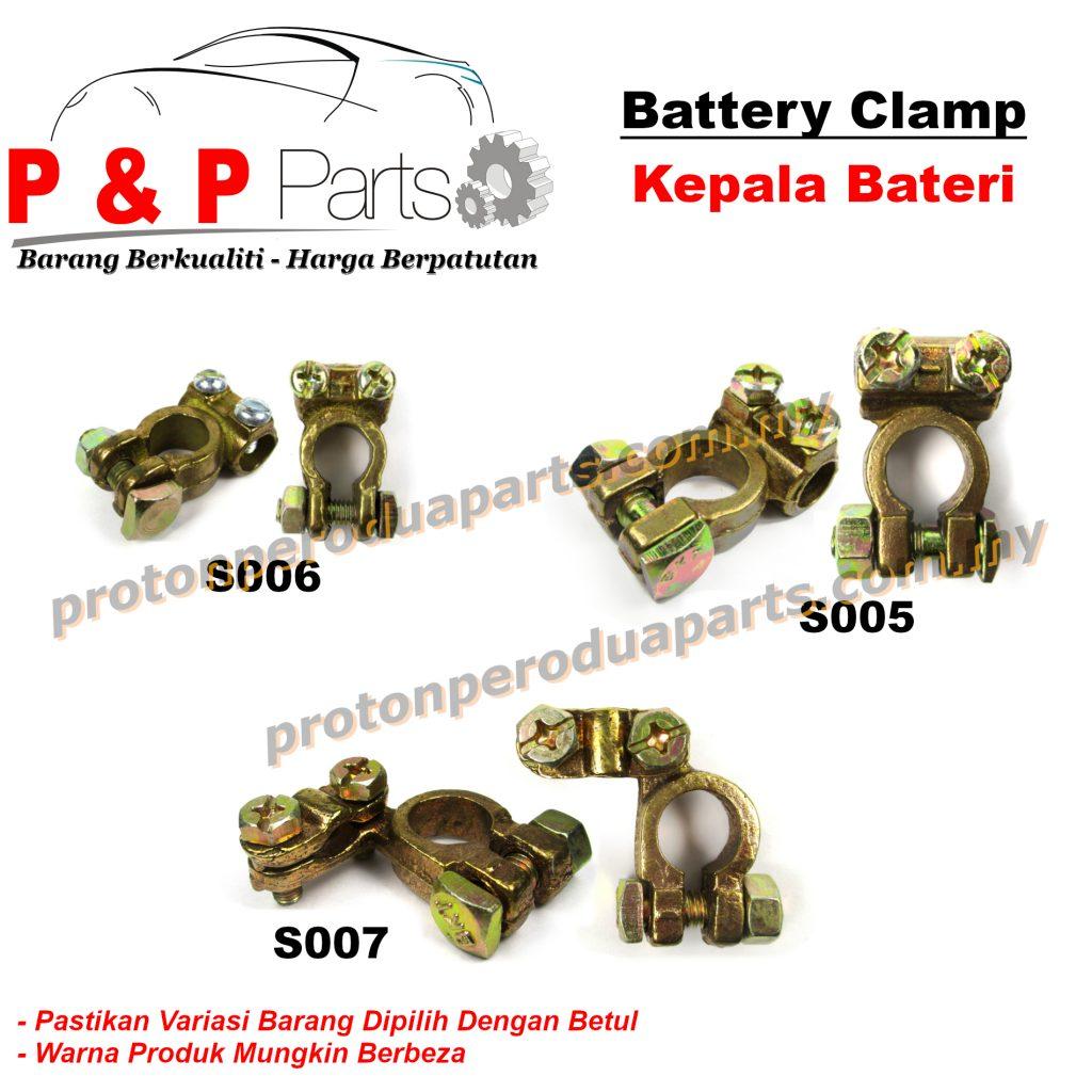 Battery Terminal Clamp Kepala Bateri Tembaga - Front Absorber Stabilizer Suspension Link Depan -  2 pcs