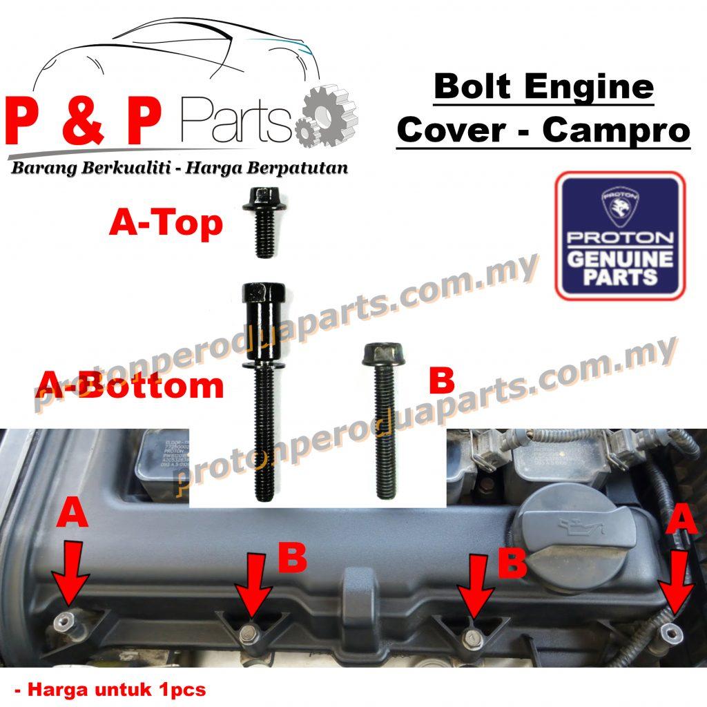 Bolt Screw Valve Engine Penutup Cover Enjin Campro IAFM - Proton Saga BLM Persona Old - Original Proton - 1pcs