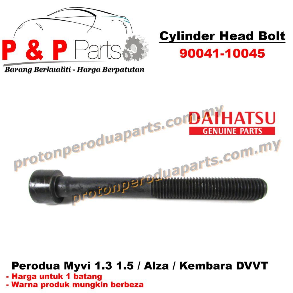 Cylinder Head Skru Bolt - Perodua Myvi 1.3 1.5 Alza Kembara DVVT - 1 batang
