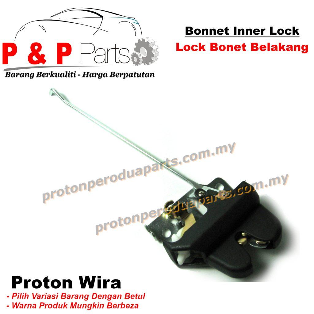 Rear Bonnet Inner Lock Belakang Bonet For Proton Wira 1.3 1.5 1.6 NEW