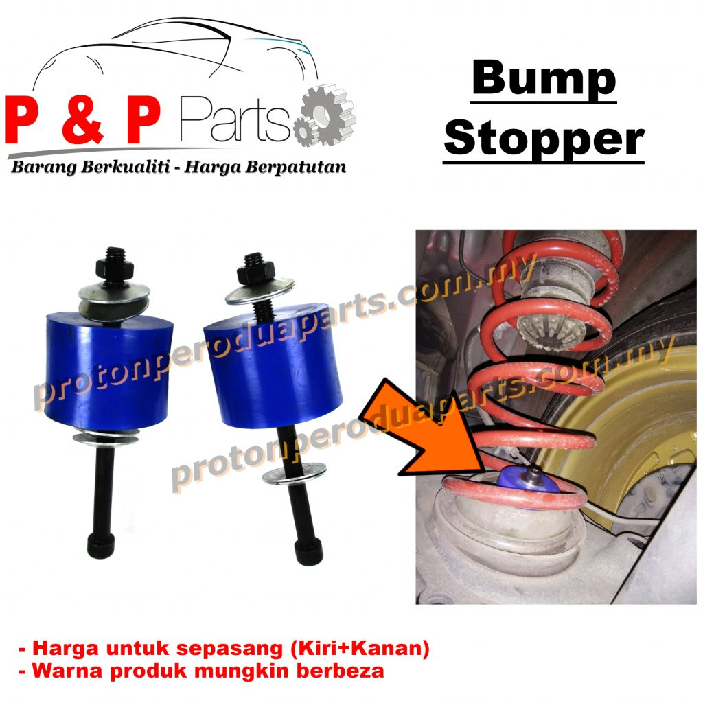 Rear Stopper Stoper Bump Absorber Spring Belakang Myvi Alza Viva Kenari Kelisa- 1pair (sepasang)