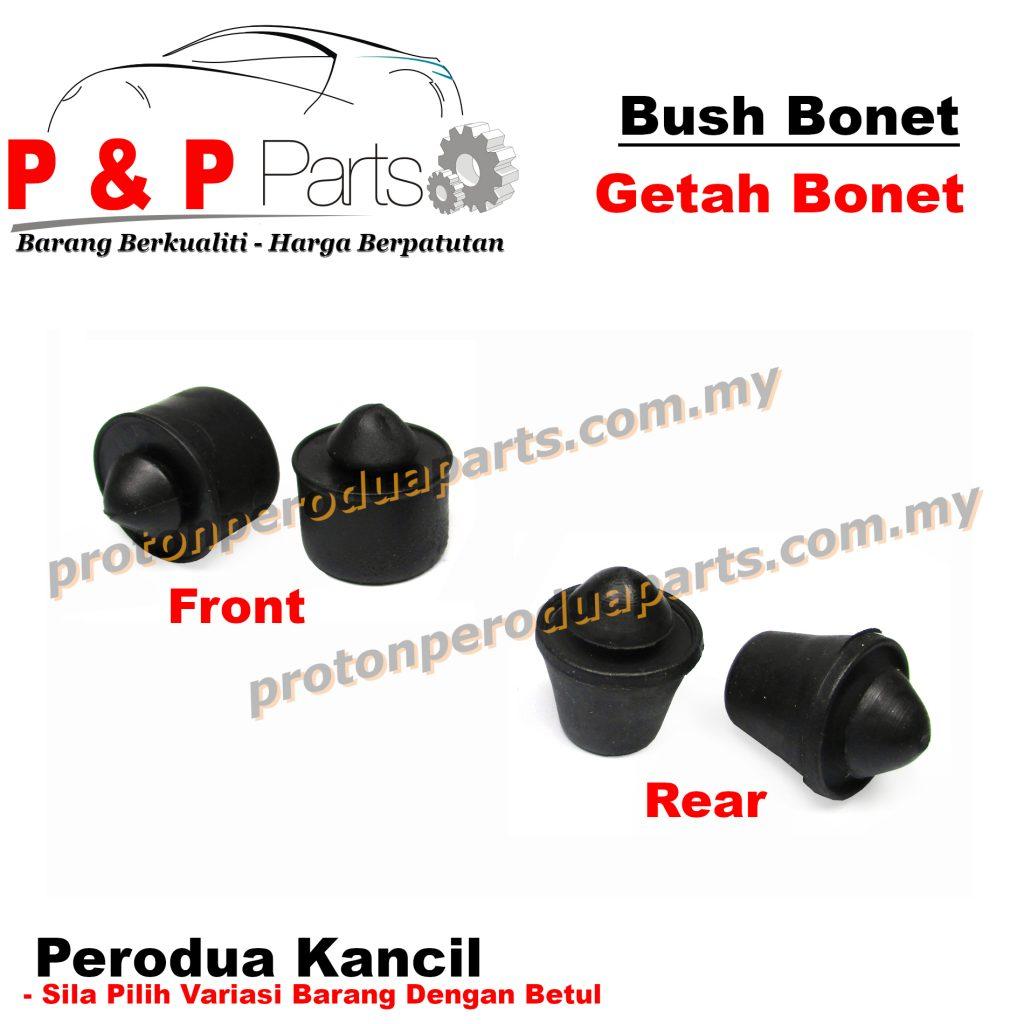 Bush Front Rear Bonnet Mounting Rubber / Getah Bonet Depan Belakang - Perodua Kancil