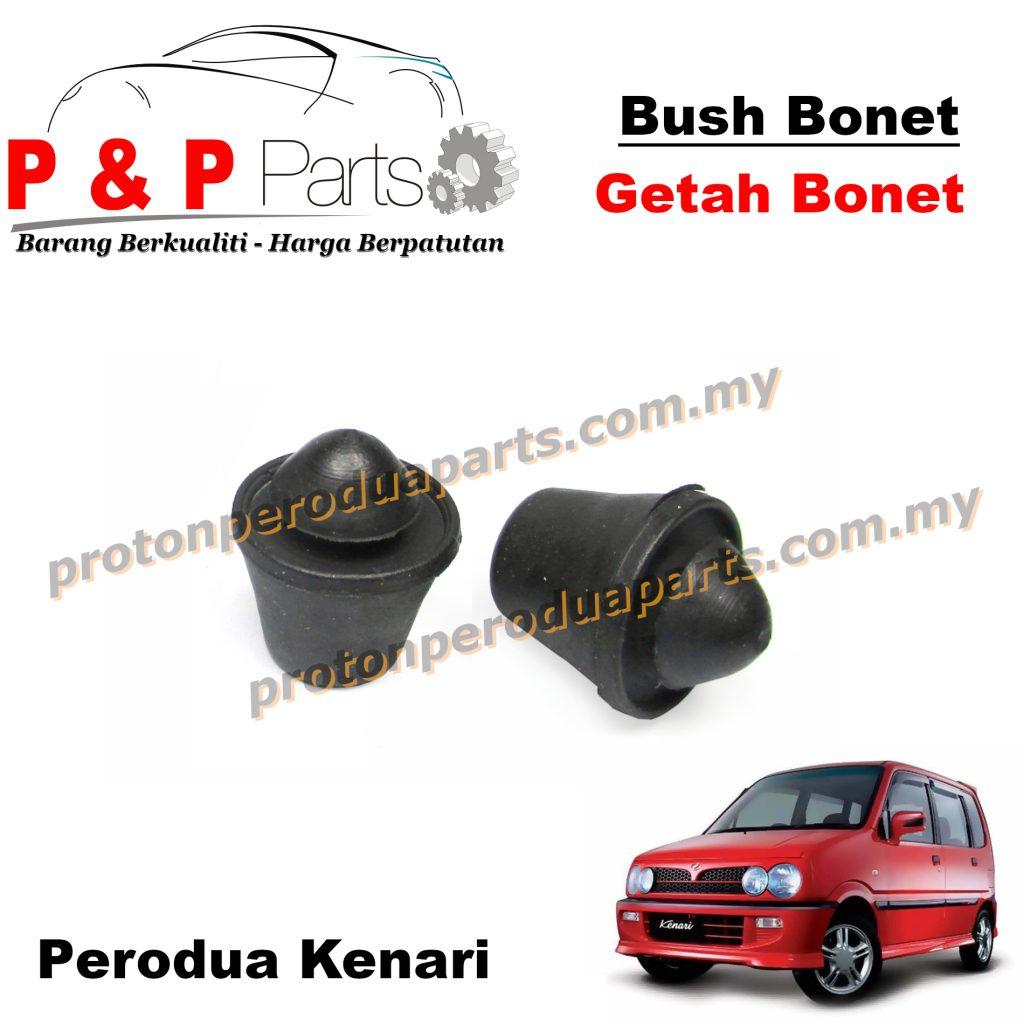 Bush Rear Bonnet Mounting Rubber / Getah Bonet Belakang - Perodua Kenari