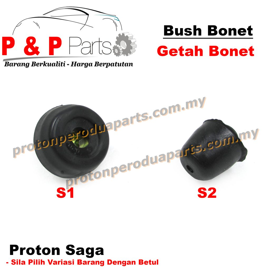 Bush Front Bonnet Mounting Rubber / Getah Bonet Depan - Proton Saga