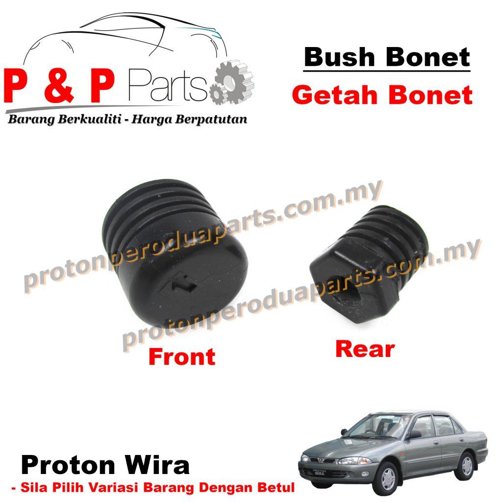 Bush Front Rear Bonnet Mounting Rubber / Getah Bonet Depan Belakang - Proton Wira