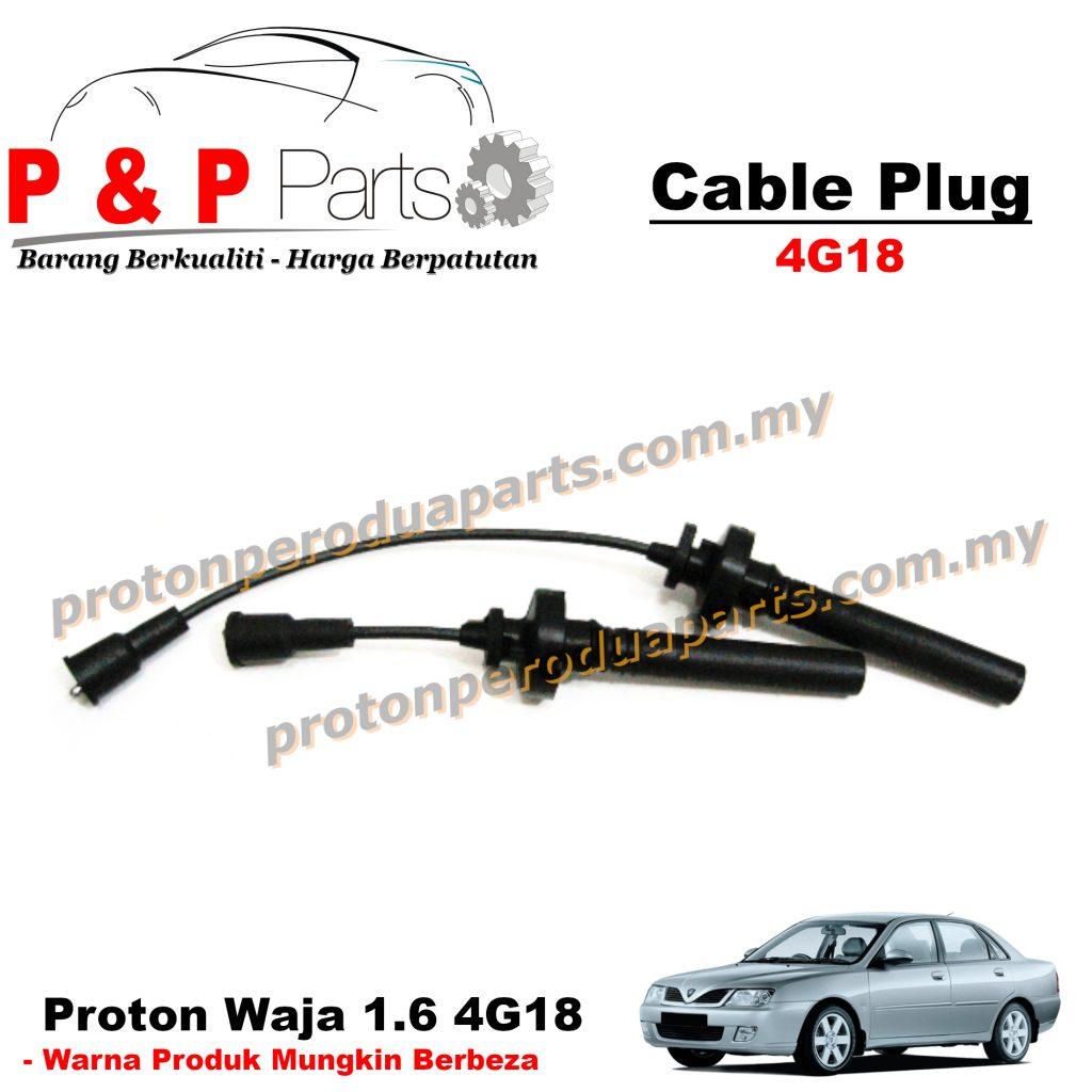 Spark Plug Wire / Cable - Proton Waja MMC 4G18 1.6
