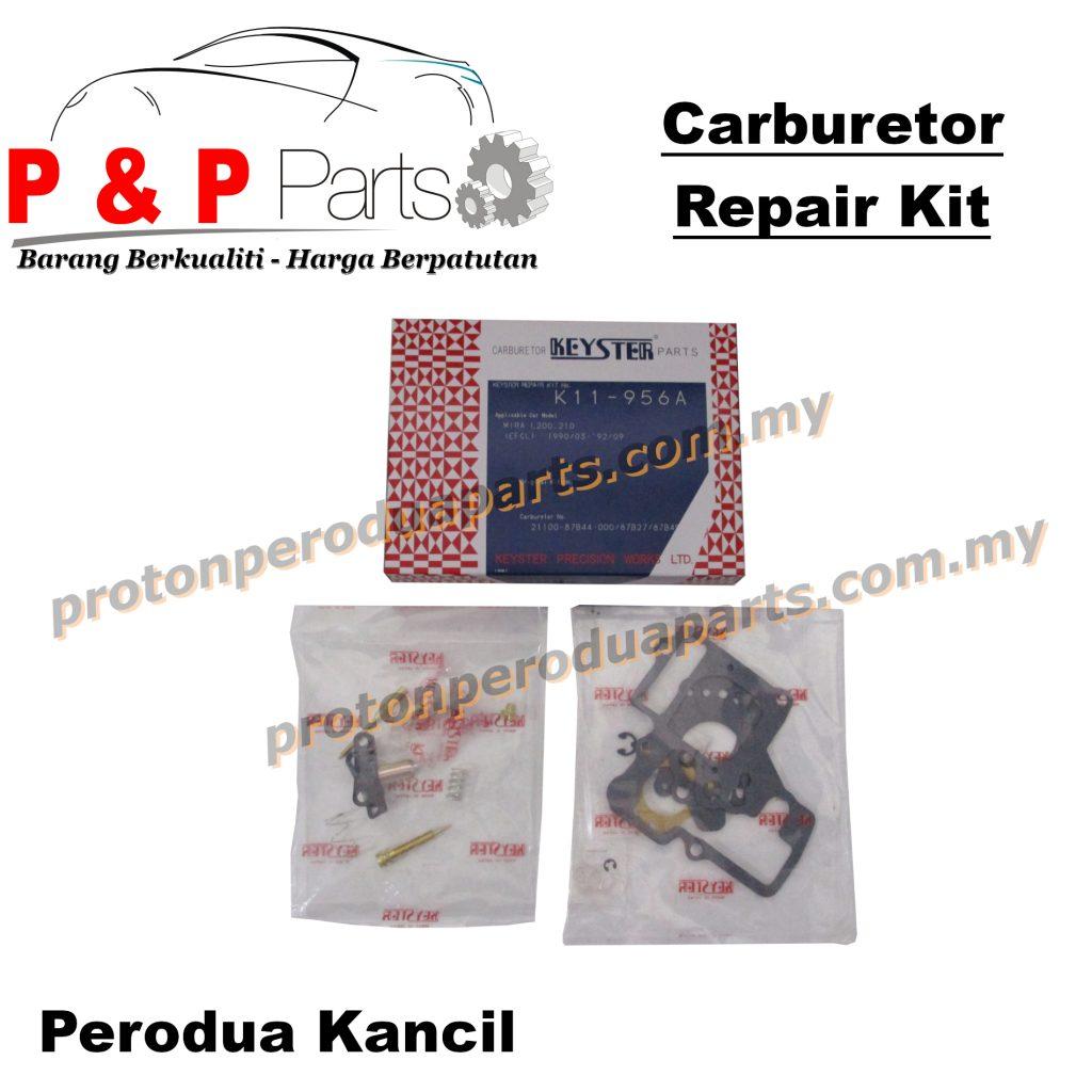Carburetor Repair Kit Keyster - Perodua Kancil 660 850 Mira L200