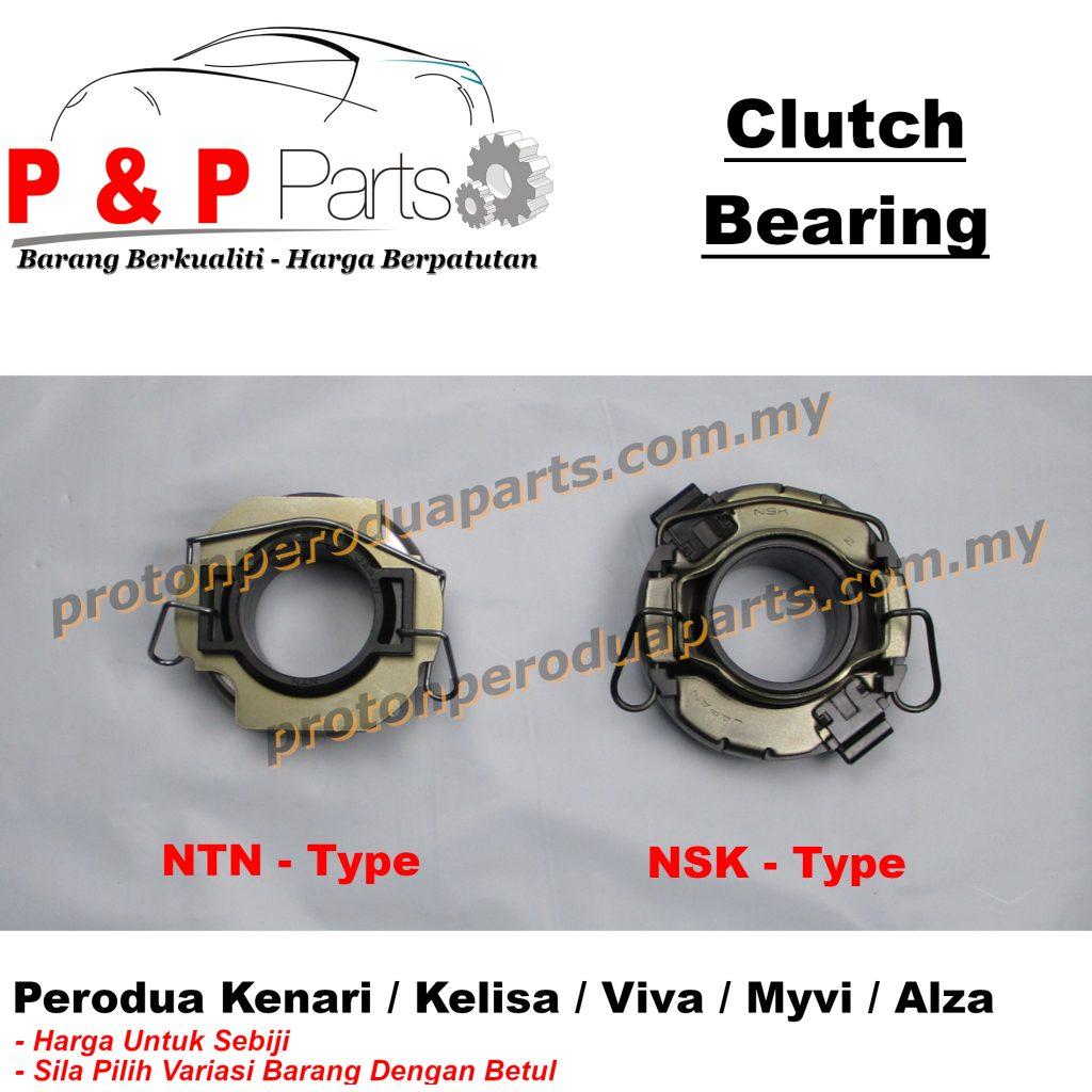 Clutch Bearing NTN NSK - Made in Japan - Perodua Kenari Kelisa Viva Myvi Alza