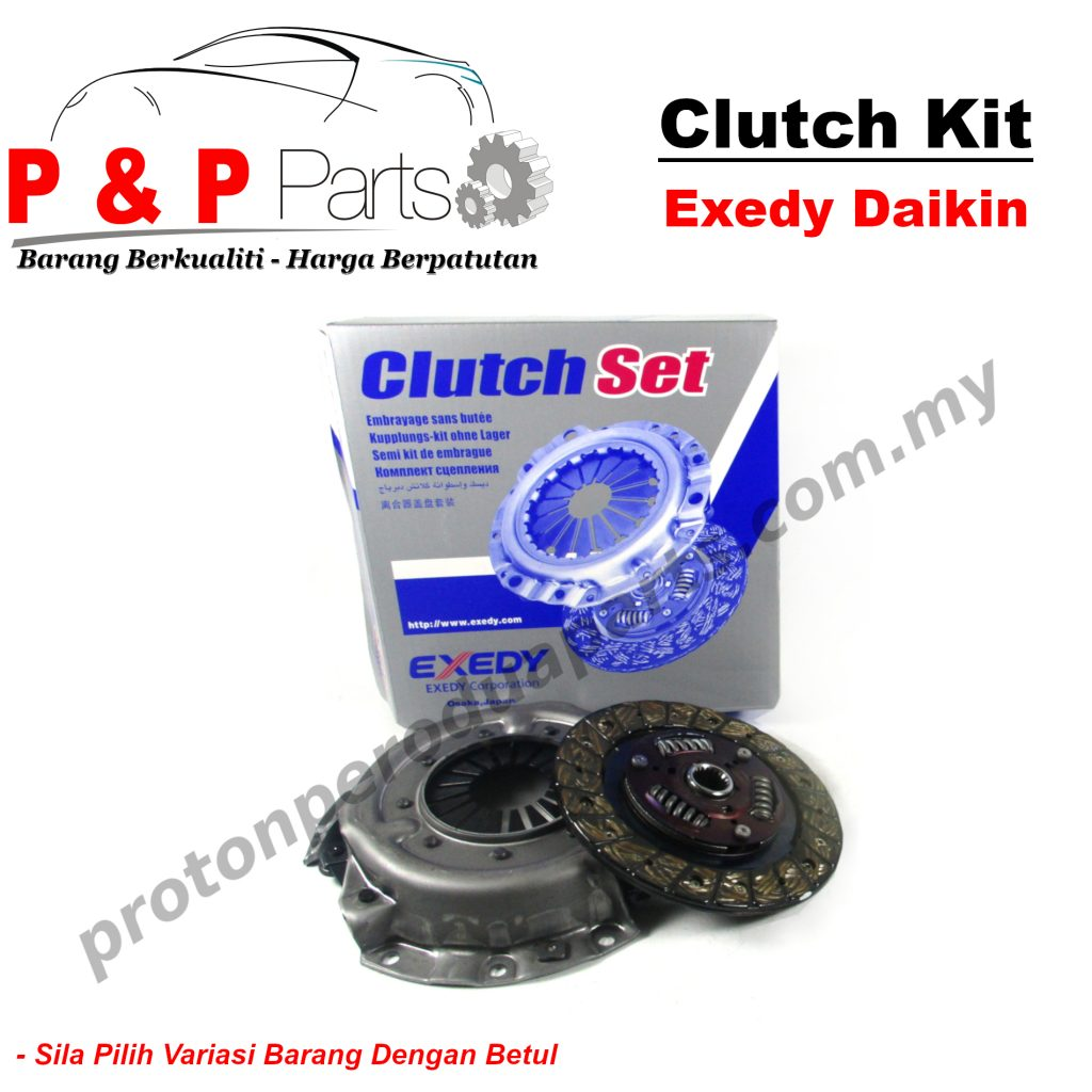 Exedy Daikin Clutch Kit for Perodua Viva 660 850 1.0