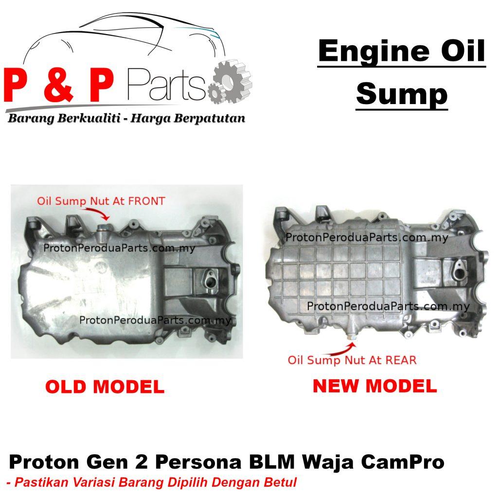 Engine Oil Sump / Pan For Proton Gen 2 Persona BLM Waja CamPro