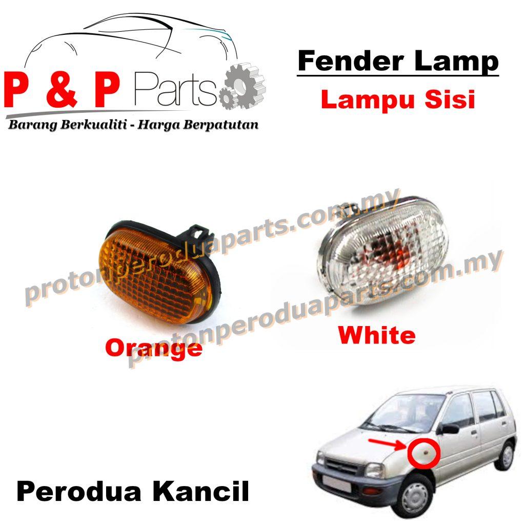 Fender Lamp Lampu Signal Sisi Tepi - Perodua Kancil - 1pcs