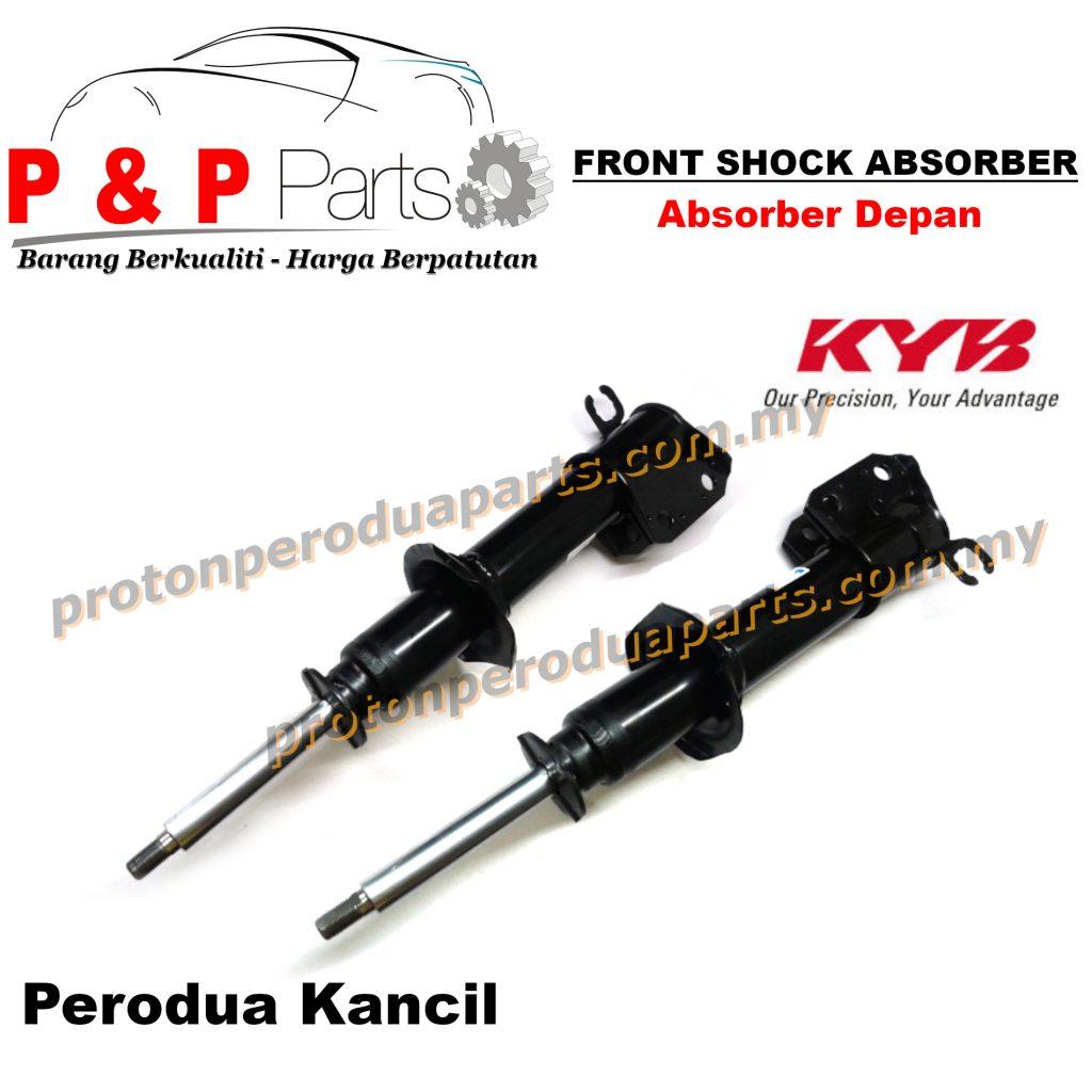 KYB Front Shock Absorber - Perodua Kancil KYB / Kayaba Oil - 2pcs