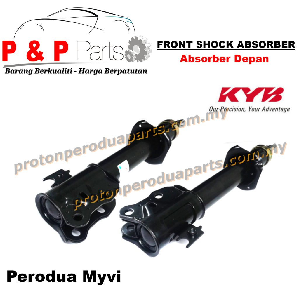 KYB Front Shock Absorber - Perodua Myvi Old (First Generation) 1.0 1.3 KYB / Kayaba Gas - 2pcs