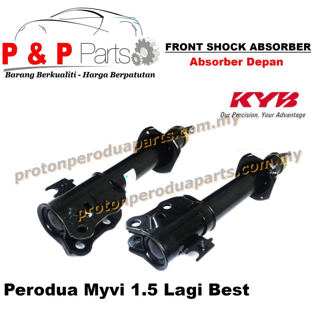 KYB Front Shock Absorber - Perodua Myvi 1.5 Lagi Best  KYB / Kayaba Gas - 2pcs