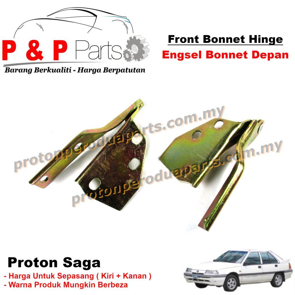 Front Bonnet Hinge / Engsel Bonet Depan - Proton Saga Iswara - Sepasang