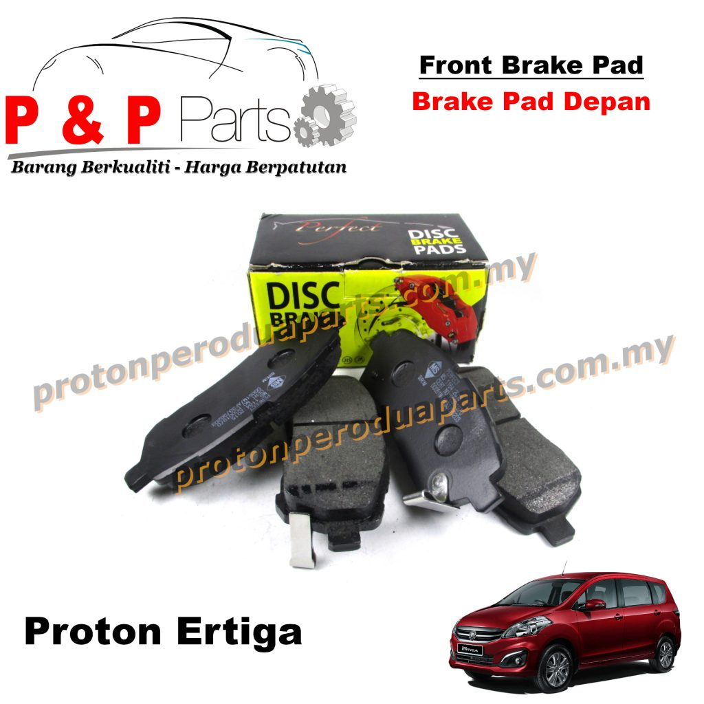 Front Brake Pad - Proton Ertiga