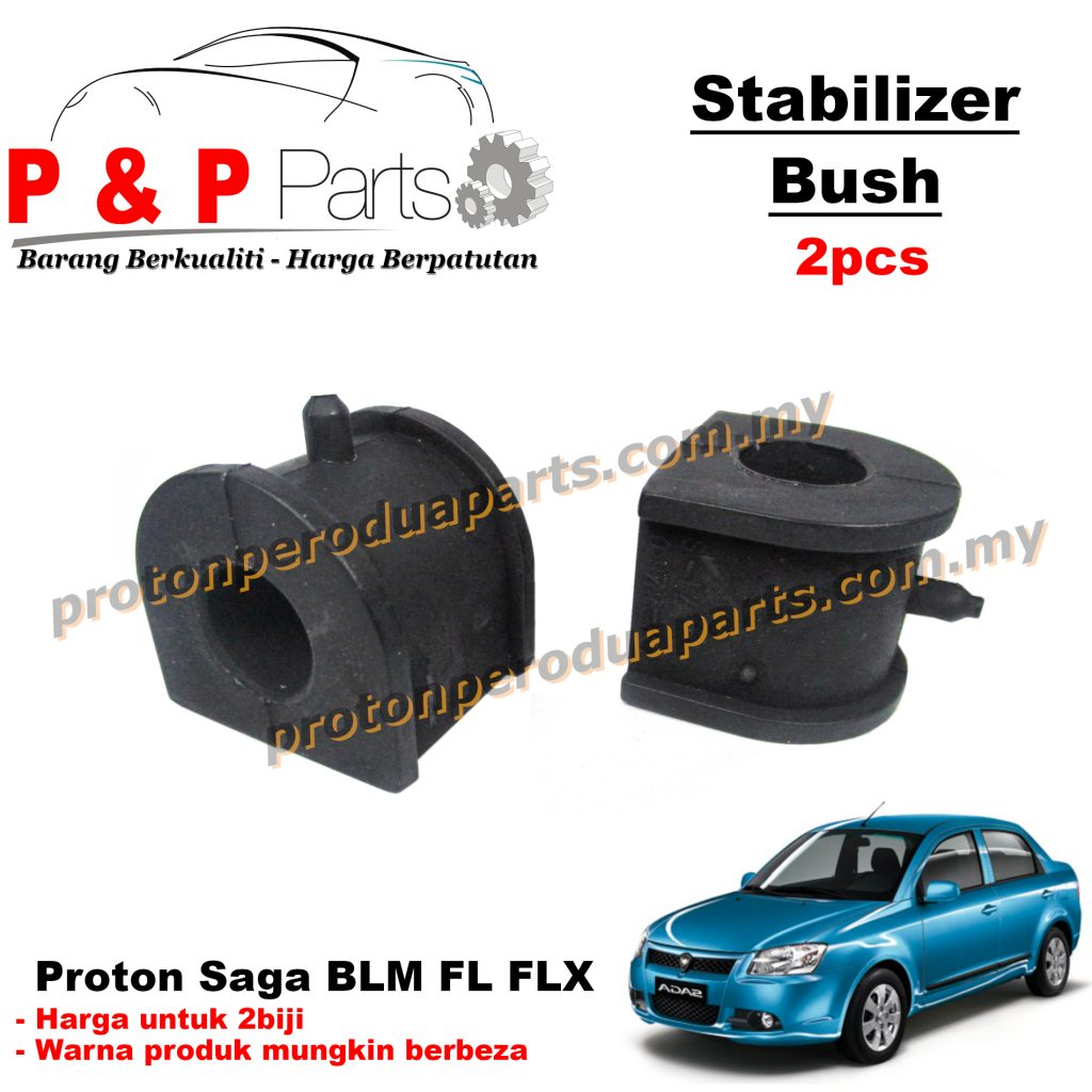Front Stab Bush Stabilizer Bar Bush - Proton Saga BLM FL FLX - 2pcs