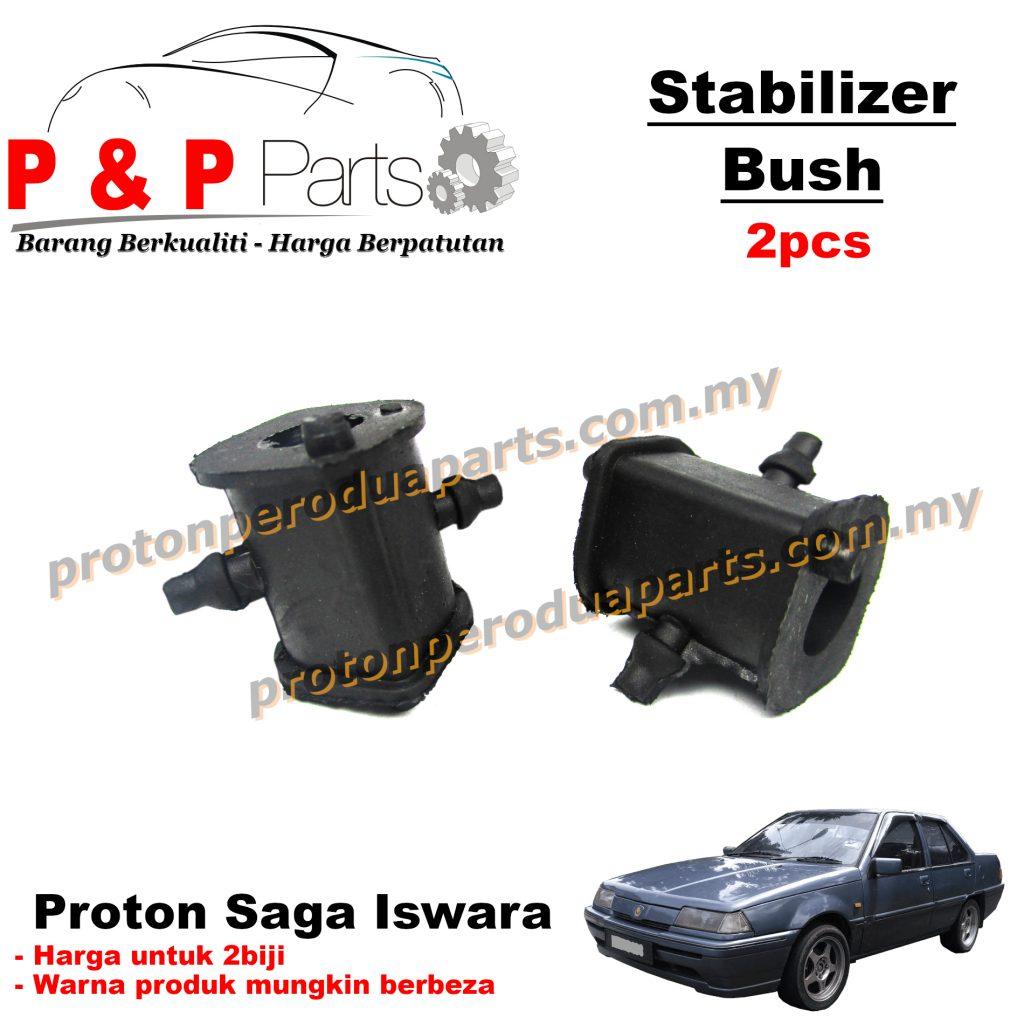 Front Stab Bush Stabilizer Bar Bush - Proton Saga Iswara - 2pcs