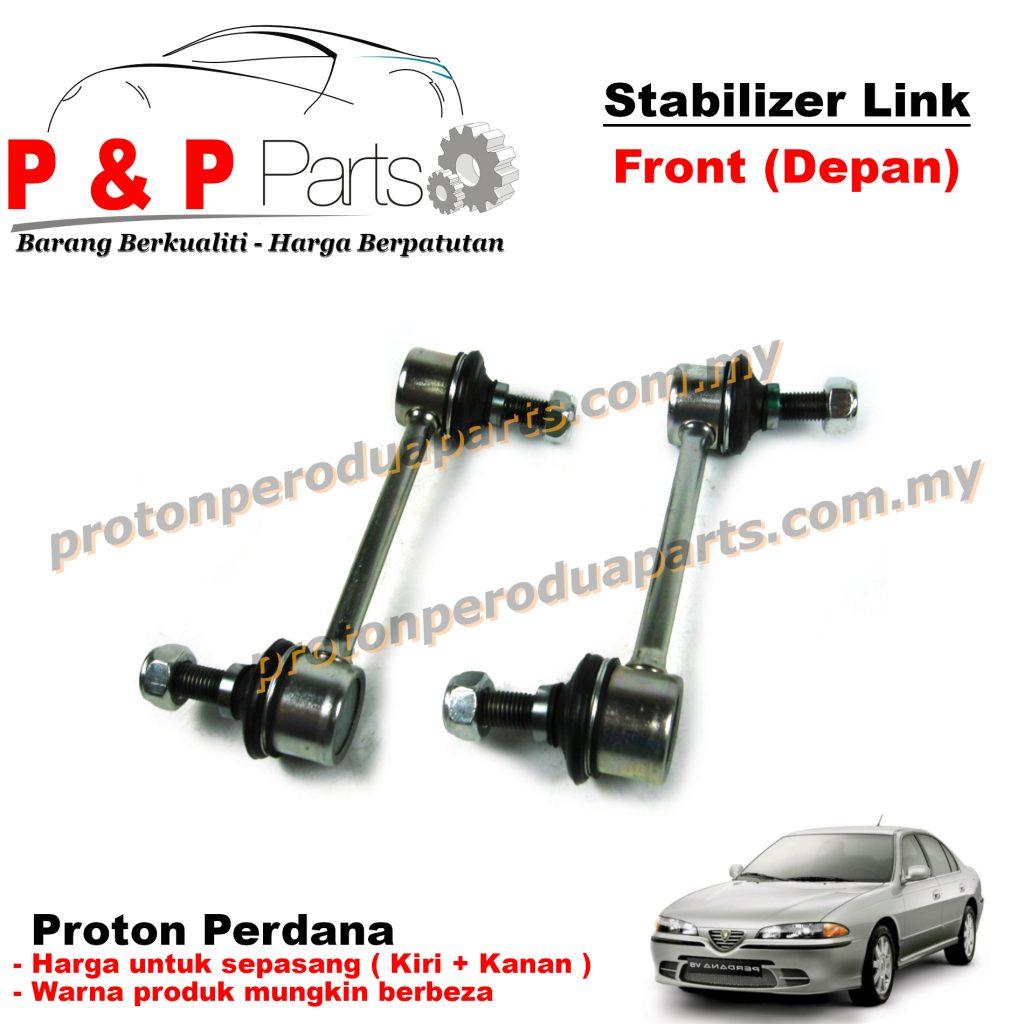 Front Absorber Stabilizer Suspension Link Depan - Proton Perdana - 1pair (sepasang)