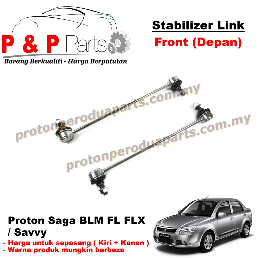 Front Absorber Stabilizer Suspension Link Depan - Proton Saga BLM FL FLX Savvy - 1pair (sepasang)