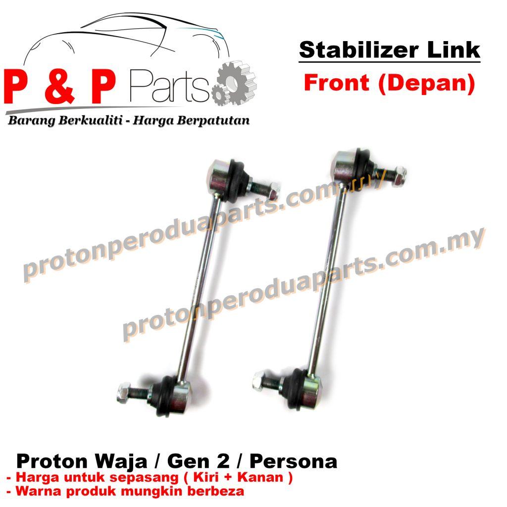 Front Absorber Stabilizer Suspension Link Depan - Proton Waja Gen 2 Persona Impian - 1pair (sepasang)