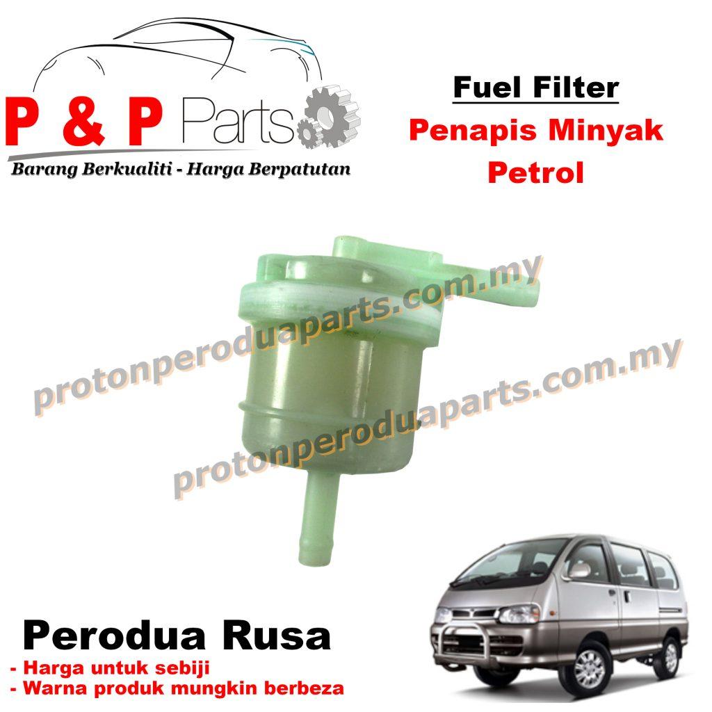 Fuel / Petrol Filter for Perodua Rusa (L Pipe)