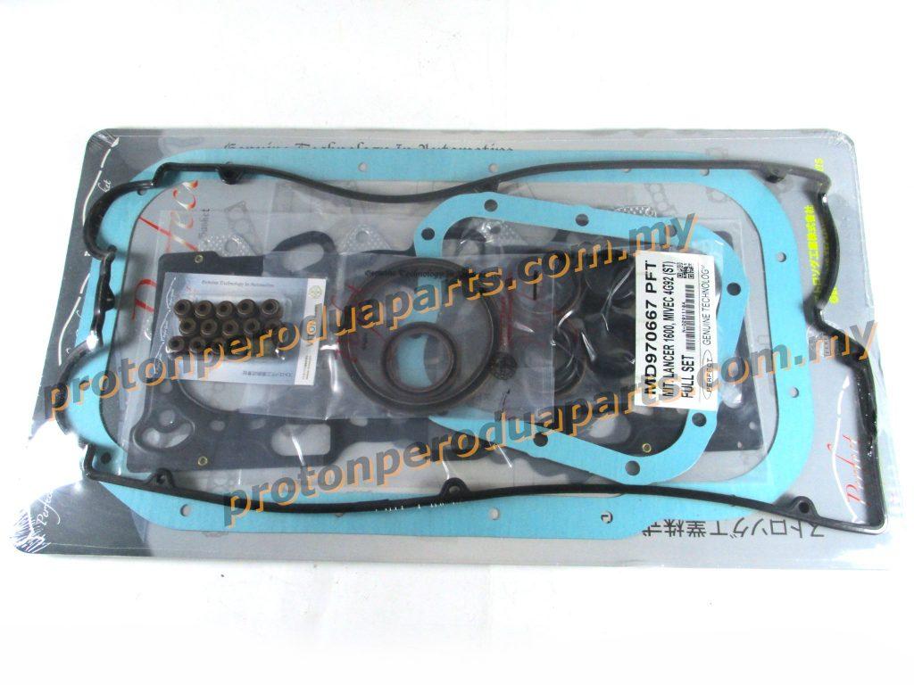 Engine Full Overhaul Gasket Set For Mitsubishi 1.6 4G92 DOHC MIVEC CK - Viton