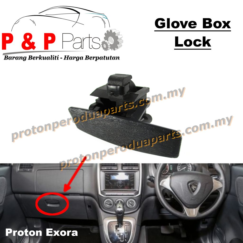Drawer Glove Box Lock Dashboard for Proton Exora