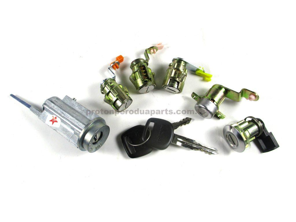 Ignition Switch + Door + Bonnet Key Lock - Proton Wira Sedan / Aeroback