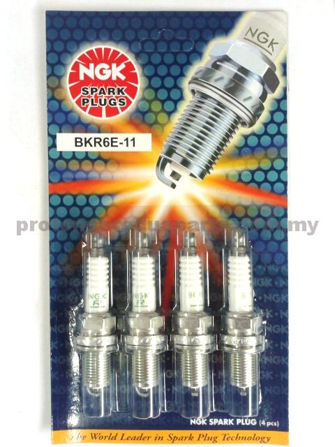 Denso Spark Plugs for Proton Wira 1.6 1.8  Satria 1.6 1.8 Putra K20PR-U11 - 4pcs/set