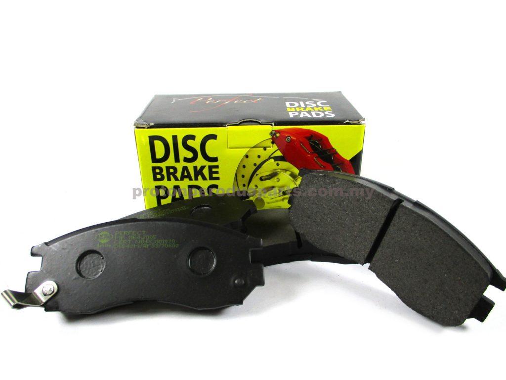 Front Brake Pad - Proton Wira Satria Putra 1.6 1.8 Perdana
