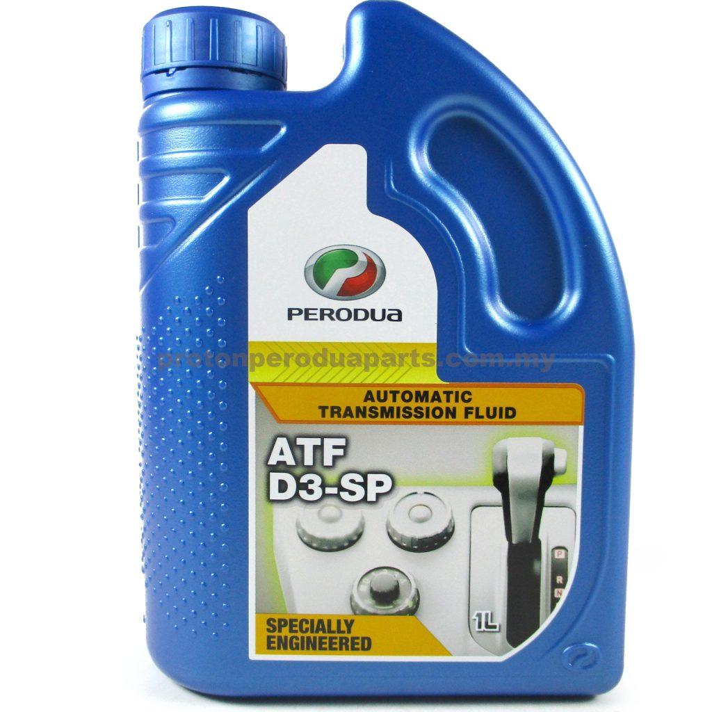 Perodua D3 - SP ATF - 1 litre - Perodua SP3 Genuine Automatic Transmission Fluid