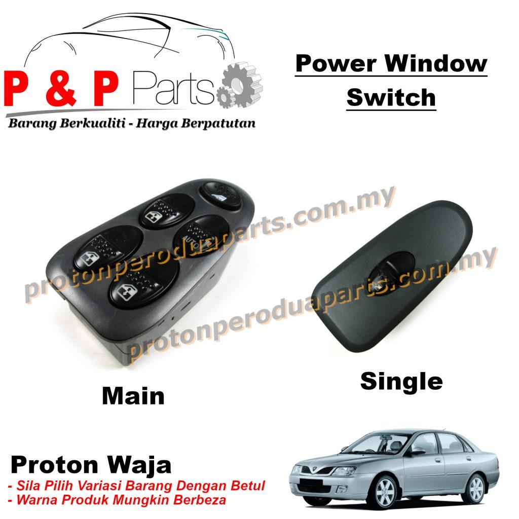 Power Window Switch Suis Cermin Tingkap - Proton Waja