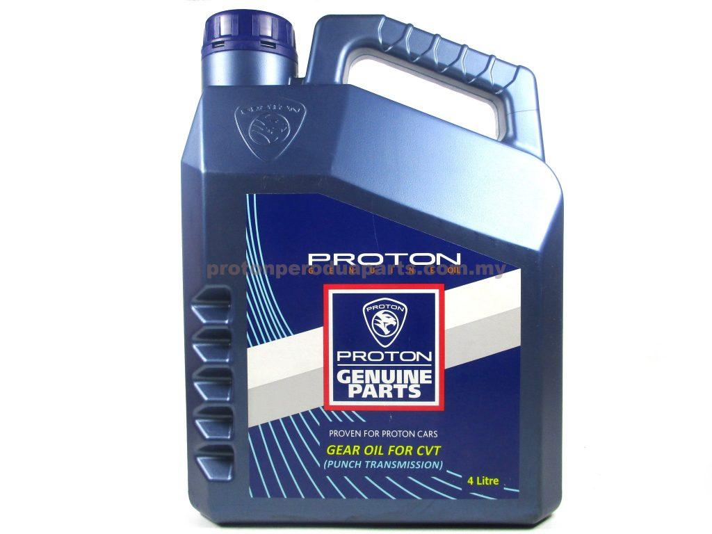 Proton CVT Fluid - 4 litre Proton Genuine Continuously Variable Transmission Fluid