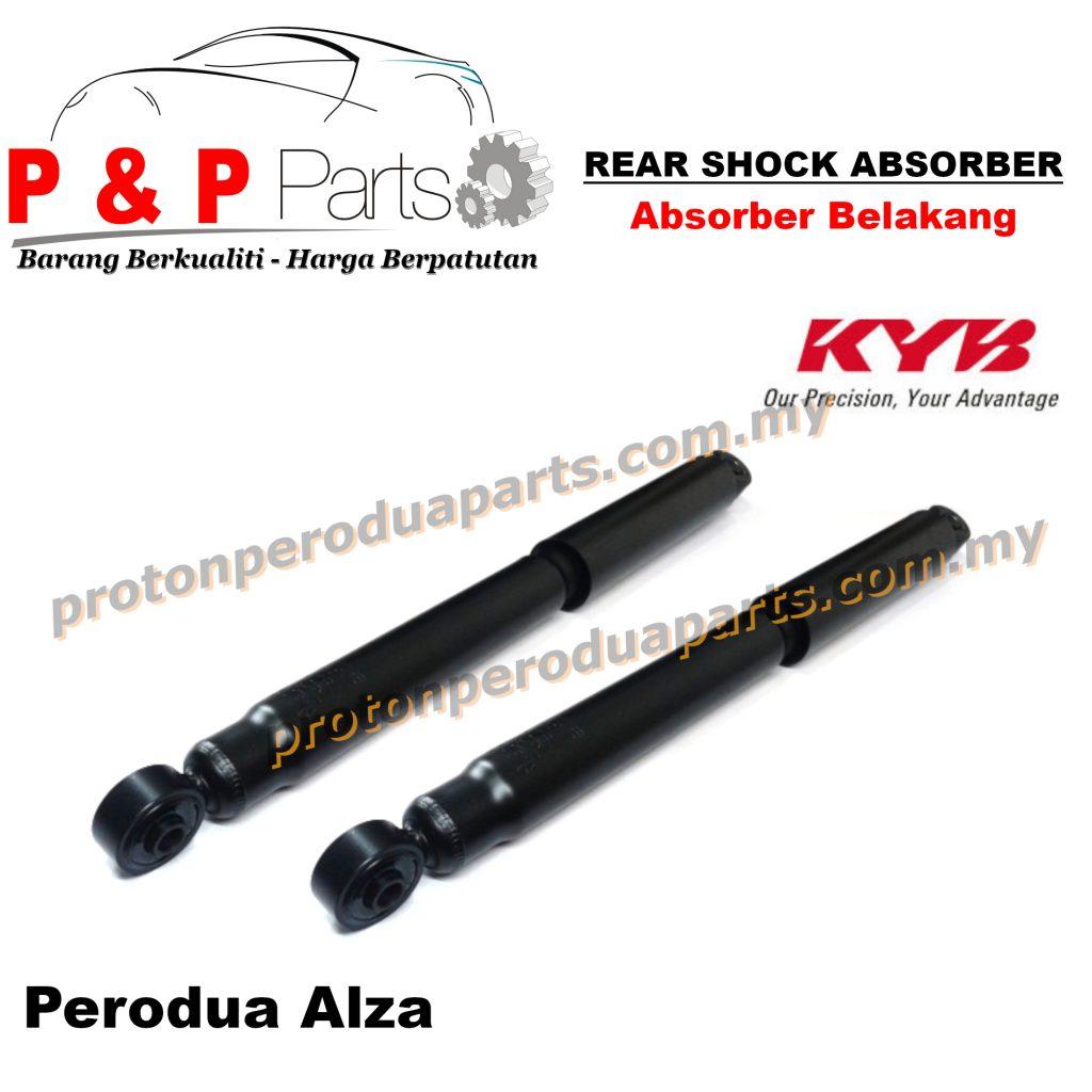 KYB Rear Shock Absorber Perodua Alza KYB Kayaba Gas - 2pcs