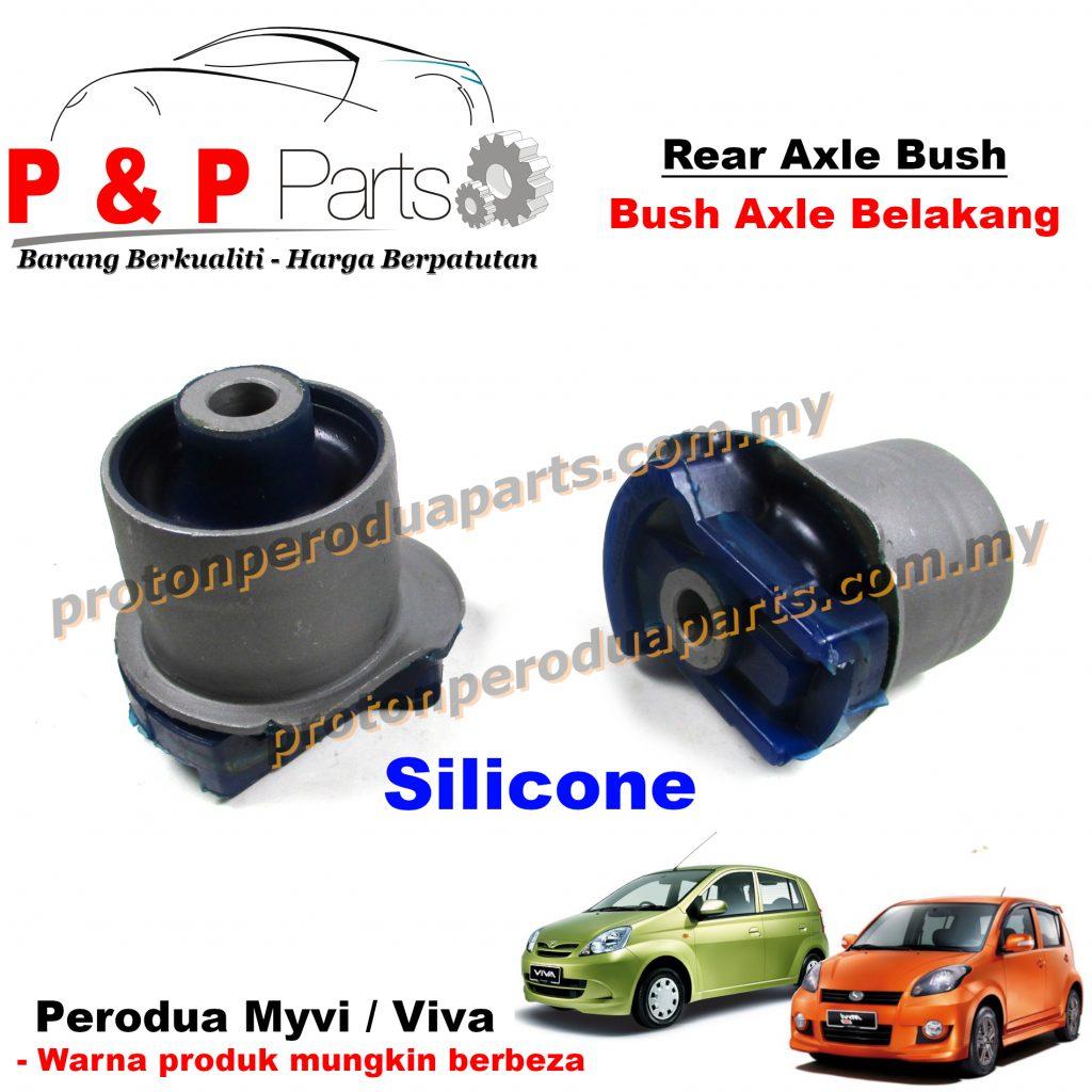 Rear Axle Trailing Arm Bush Belakang - Perodua Myvi Old Lagi Best Icon Viva Toyota Vios Ncp42 - Silicone / Rubber