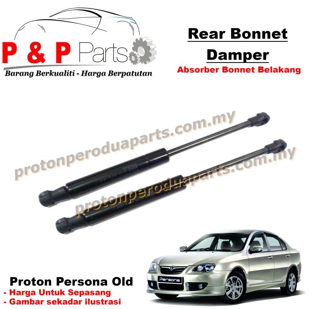 Rear Absorber Bonnet Damper Belakang For Proton Persona Old First Model - Front Absorber Stabilizer Suspension Link Depan - 2 pcs