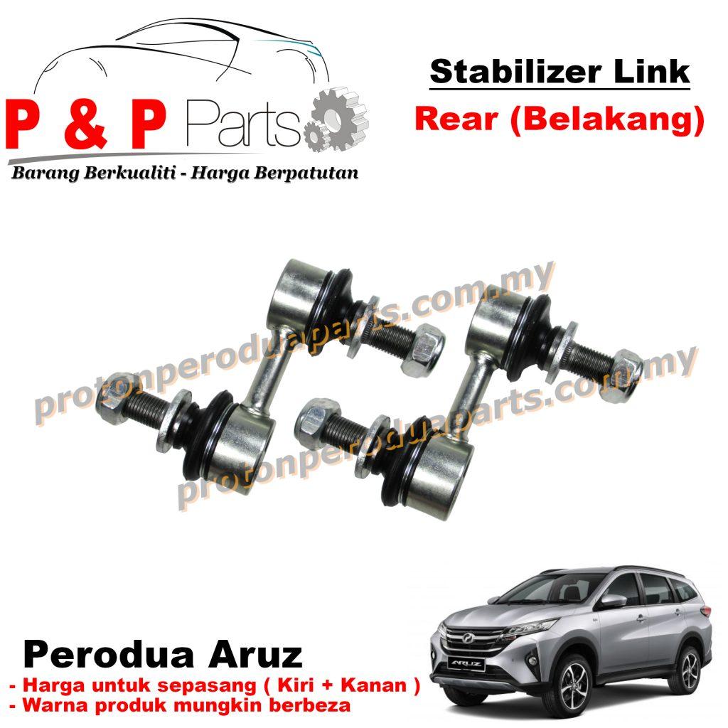 Rear Absorber Stabilizer Suspension Link Belakang - Perodua Aruz - 1pair (sepasang)