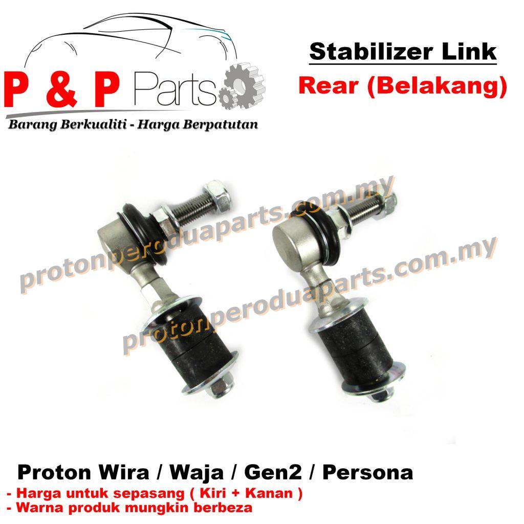 Rear Absorber Stabilizer Suspension Link Belakang - Proton Wira Waja Gen 2 Persona - 1pair (sepasang)