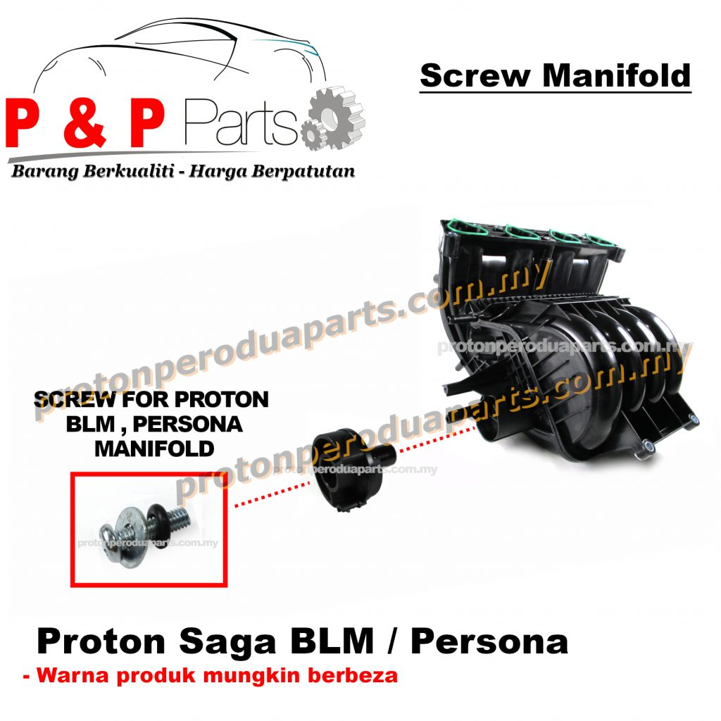 Screw For Inlet Manifold Proton BLM / FLX / PERSONA