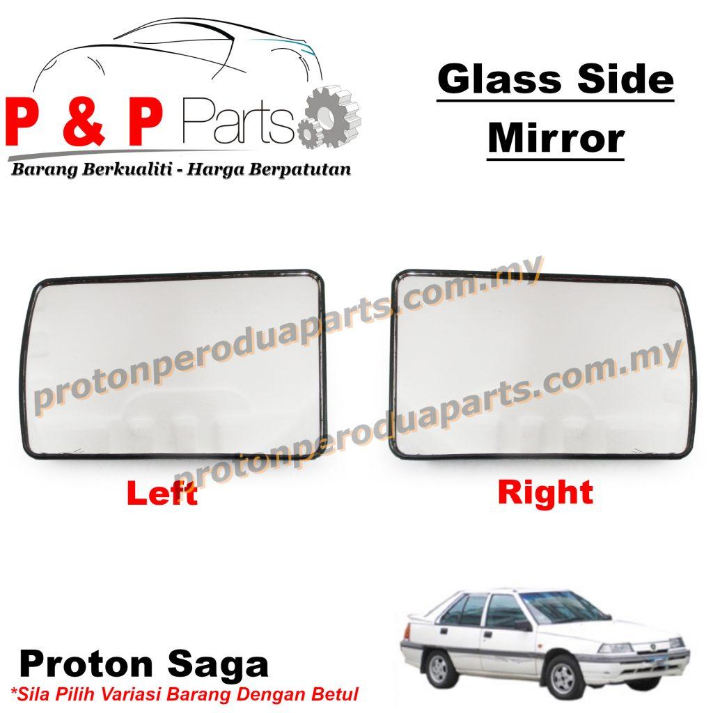 Side Mirror Glass Kaca Cermin Sisi - Proton Saga Iswara