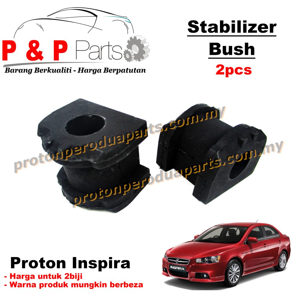 Front Stab Bush Stabilizer Bar Bush - Proton Inspira - 2pcs